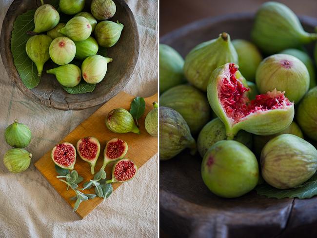 fresh figs in bowl
