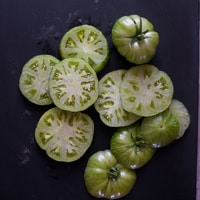 Thumbnail image for Grilled Green Tomatoes, An Accidental Dish