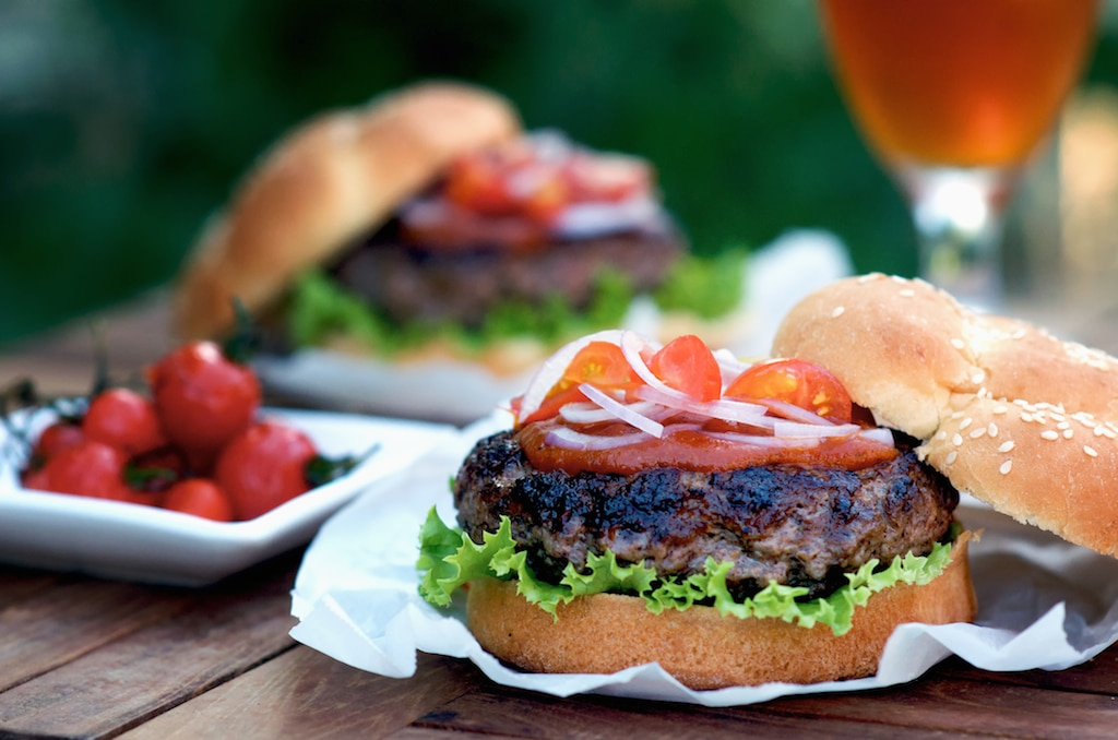 Ultimate Umami Hamburger Recipe or Asian Burger Recipe @whiteonrice