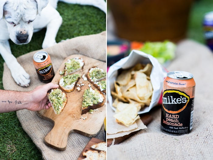 Appetizer Pairings & Recipes with Mike's Hard Lemonade | @whiteonrice