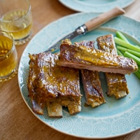 Thumbnail image for Honey Mustard Spare Ribs & Chicken Wing Round-Up