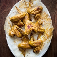 Thumbnail image for Honey Mustard Chicken Wings & New Chicken Recipe Box Website