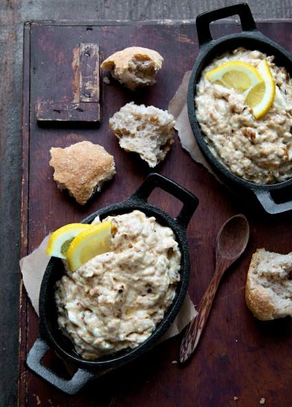 Hot Crab Dip Recipe  in ramekin