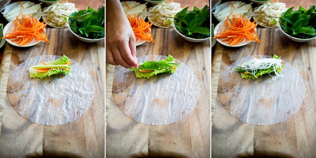 Vietnamese Fresh Spring Rolls Recipe or Summer Rolls, Rice Paper Rolls @whiteonrice