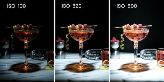 iso digital photography