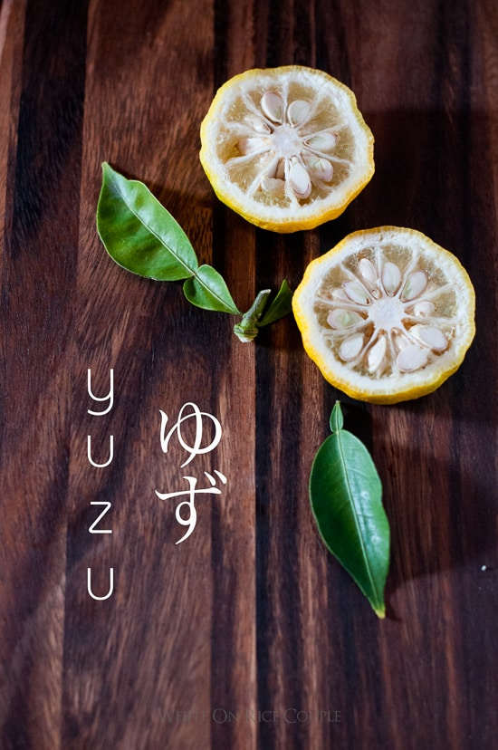 Japanese Yuzu Lemon - Yuzu Citrus Fruit for Japanese Recipes | @whiteonrice