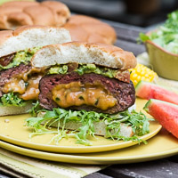 Thumbnail image for For the Grilling Weekend: Jalapeño Cheddar Stuffed Burgers and More
