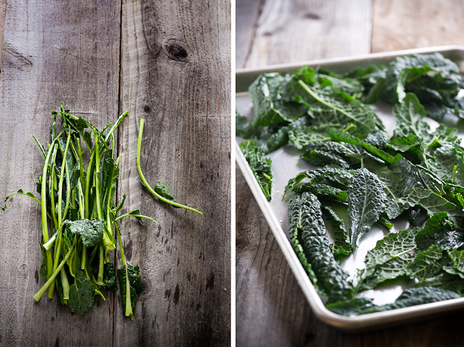 Spicy Kale Chips step by step photo