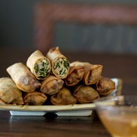 Thumbnail image for Kale and Chicken Egg Rolls Recipe. And More Kale.