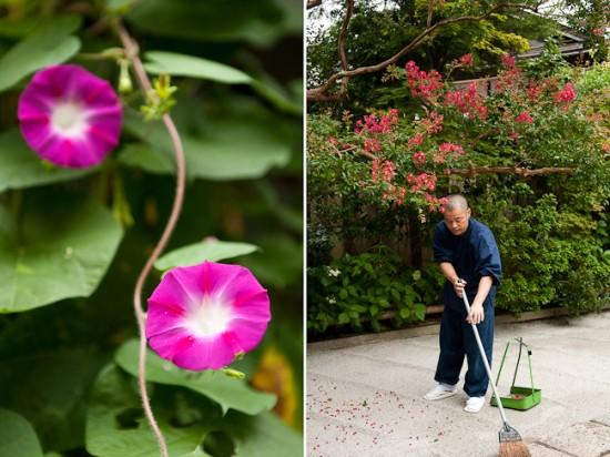 gardener at mt koya