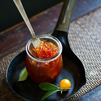 Thumbnail image for Homemade Kumquat Marmalade with Brie Cheese and Blue Chair Jam Cookbook Giveaway