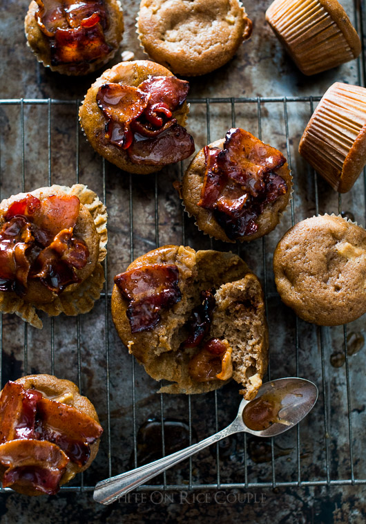 Savory baked goods on a cooling rack
