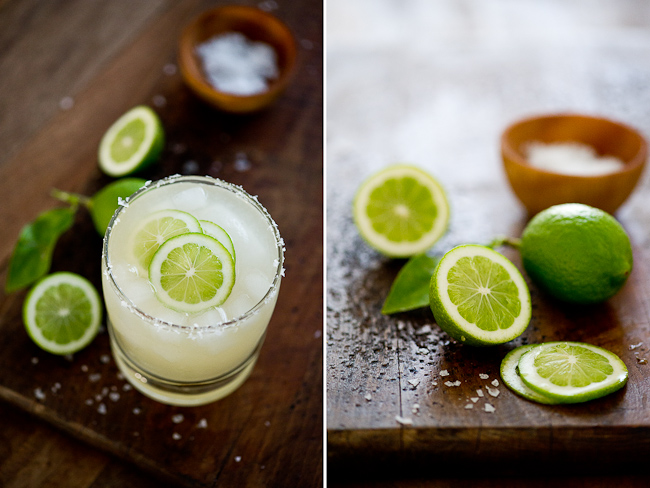 Best Margarita Cocktail Recipe with fresh limes