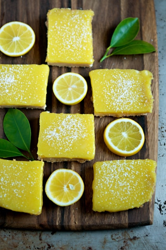 Meyer Lemon Bars - White on Rice Couple