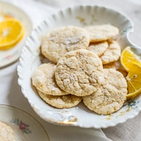 Thumbnail image for Meyer Lemon Crinkle Cookies