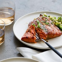 Thumbnail image for Roasted Miso-Glazed Salmon