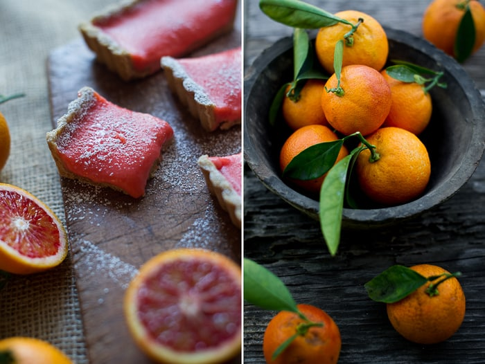 Blood Orange Bars Recipe from WhiteOnRicecouple.com