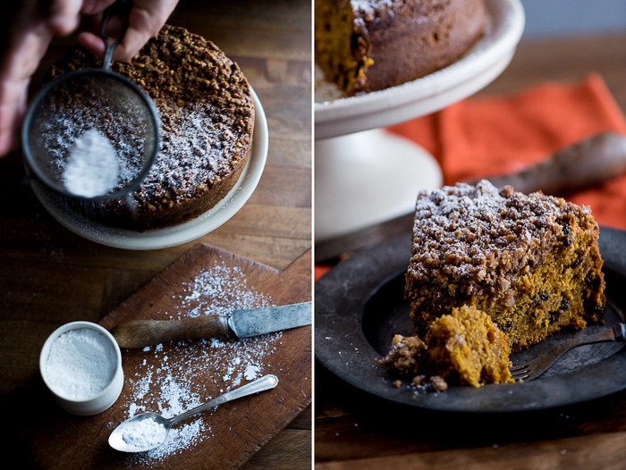 Pumpkin Coffe Cake Recipe from WhiteOnRiceCouple.com