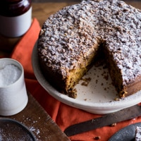 Thumbnail image for Pumpkin Spice Coffeecake – Ok, I Give Up, Summer is Over