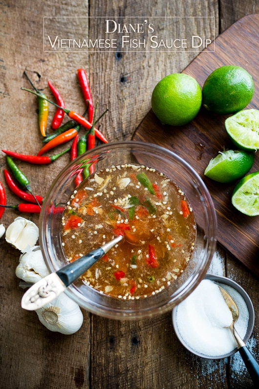 Vietnamese fish sauce dip for vietnamese food nuoc mam cham for Sauce for fish