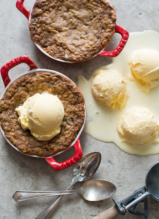 "Oatmeal Cookie ""Pizookie"" Recipe on WhiteOnRiceCouple"