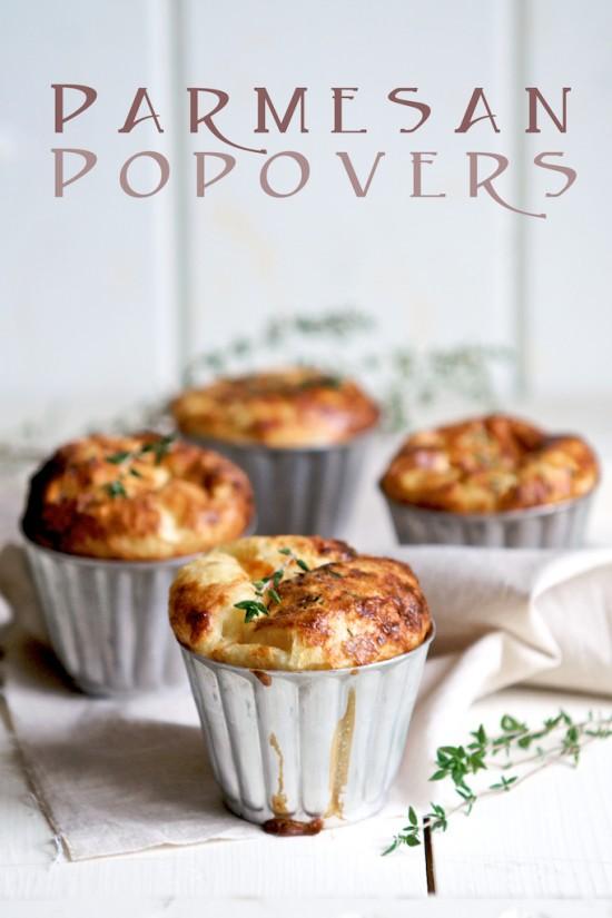 Parmesan Herb Popovers Recipeby WhiteOnRiceCouple.com