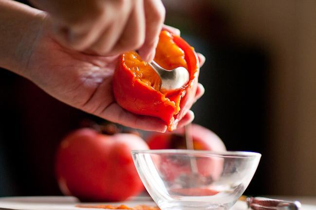 Persimmon cookies recipe using persimmon pulp | WhiteONRiceCouple.com
