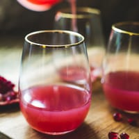 Thumbnail image for Pomegranate Gin Cocktail to Celebrate all of 2013