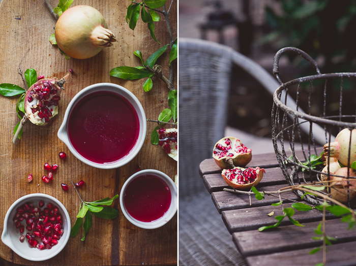 Fresh Pomegranate Juice from White On Rice Couple | @whiteonrice
