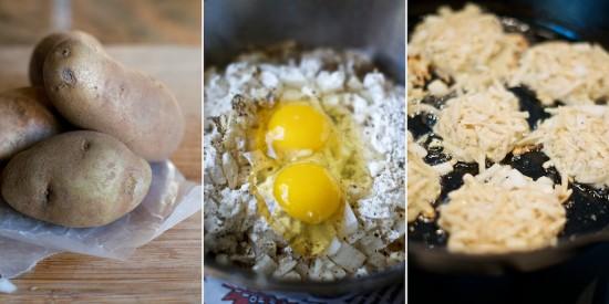 Potato Pancakes Recipe from whiteonricecouple.com
