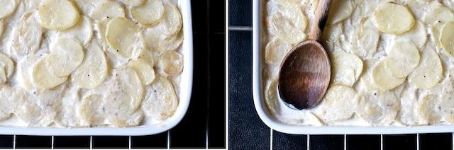 2nd crust break potatoes au gratin