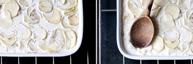 potatoes au gratin 1st crust break