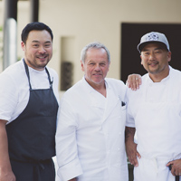 Thumbnail image for Evening photoshoot with Chefs Wolfgang Puck, David Chang & Roy Choi