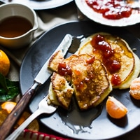 Thumbnail image for Ricotta Hotcakes Recipe: Stories & Video from Australia Trip