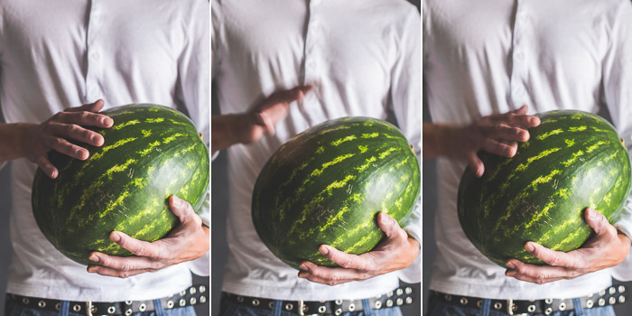 How to pick sweet watermelon ? Here's some tips to look for on @whiteonrice