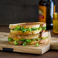 Thumbnail image for Roasted Broccoli Grilled Cheese and More from Bountiful