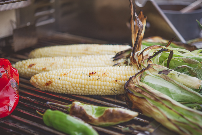 Fire Roasted Summer Corn Salad Recipe from White On Rice Couple