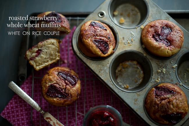 Whole Wheat Strawberry Muffins Recipe