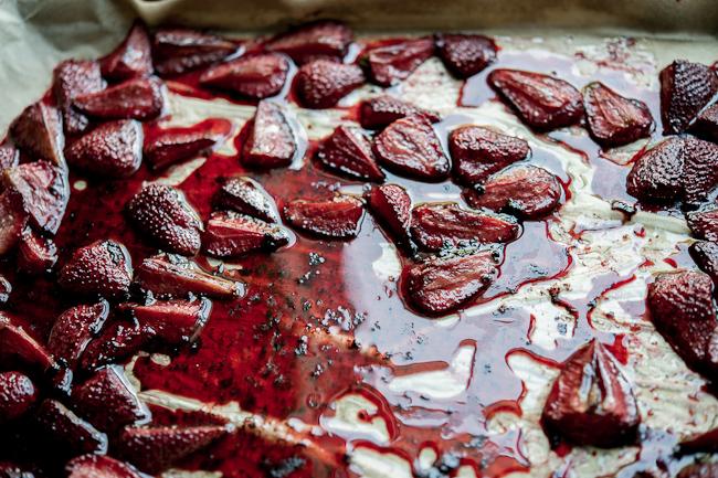 roasted berries