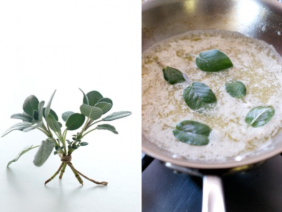 fried sage and brown butter recipe