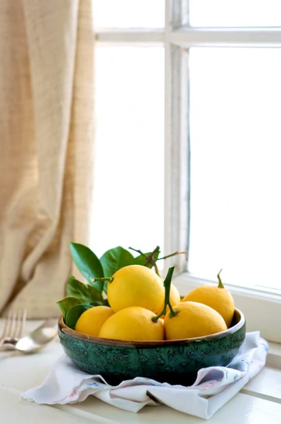 Scones recipe with meyer lemon from WhiteOnRiceCouple.com