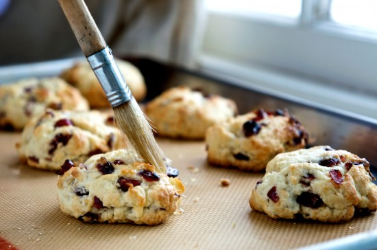 New Blog Stuff and Meyer Lemon Cranberry Scones Recipe – White on ...
