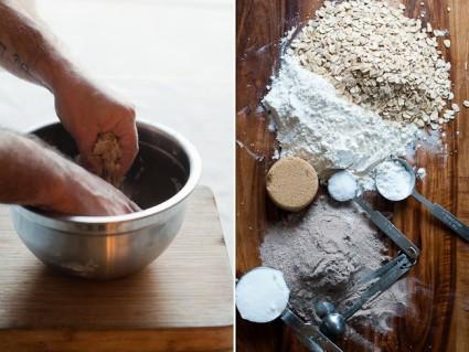 Brown Butter Oatmeal Scones ingredients