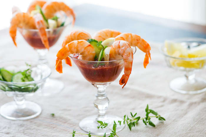 Sriracha Shrimp Cocktail Recipe on WhiteOnRiceCouple.com