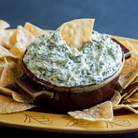 Thumbnail image for Hot Stove Top Artichoke Spinach Dip & Other Dip Favorites