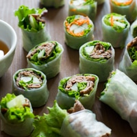 "Thumbnail image for Spring Roll Bites – ""Tapas"" for All"
