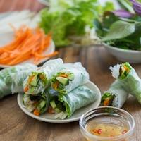 How to Make Fresh Spring Rolls | Fresh Vietnamese Summer Rolls