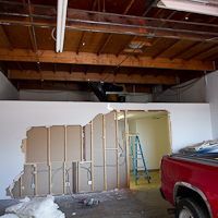 Thumbnail image for Studio Update: Walls came down & fresh paint is up