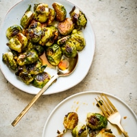 Thumbnail image for Teriyaki Glazed Roasted Brussels Sprouts
