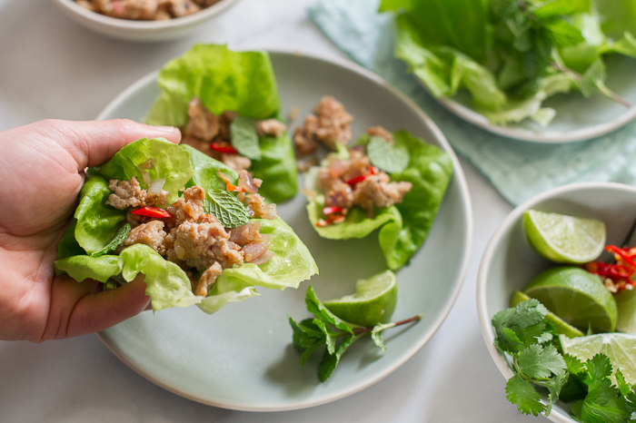 chicken lettuce cups recipe